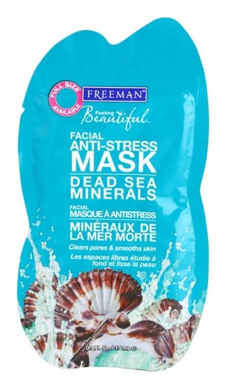 """Mască de față antistres """"Mineralele mării negre"""" - Freeman Feeling Beautiful Dead Sea Minerals Anti-Stress Mask (miniatură)"""