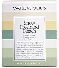 Parfumuri și produse cosmetice Pudră decolorantă, pentru balayage - Waterclouds Snow Bleach Freehand