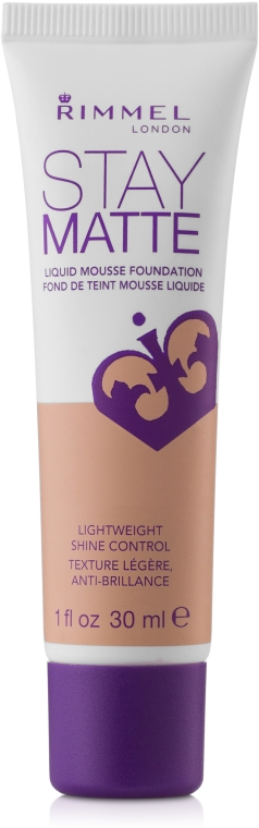 Fond de ten, matifiant - Rimmel Stay Matte Liquid Mousse Foundation