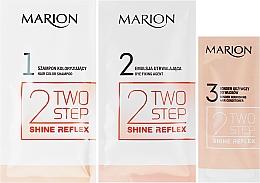 Șampon fără amoniac pentru păr vopsit - Marion Two-Step Shine Reflex Color Shampoo — Imagine N2