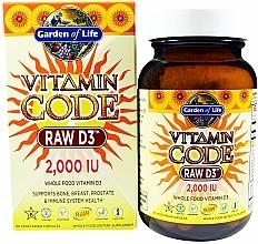 Parfumuri și produse cosmetice Supliment alimentar - Garden of Life Vitamin Code Raw D3, 50 mcg