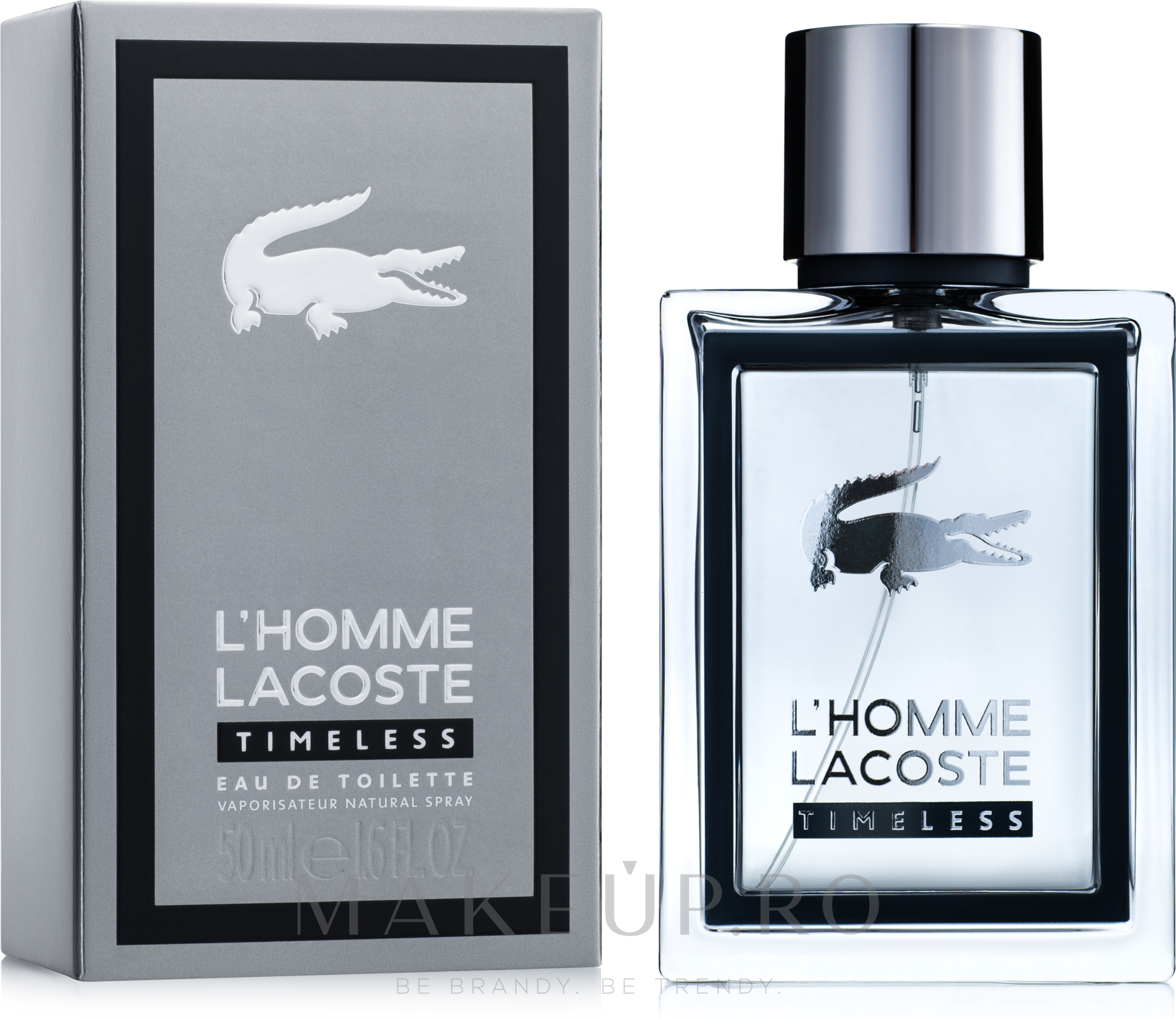 Lacoste L'Homme Timeless - Apă de toaletă  — Imagine 50 ml