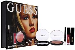 Parfumuri și produse cosmetice Set - Guess Beauty Face Lookbook Beauty 101 Peach (lipstick/4.1ml + eye/sh/7g + mascara/4ml + eyeliner/0.5g)