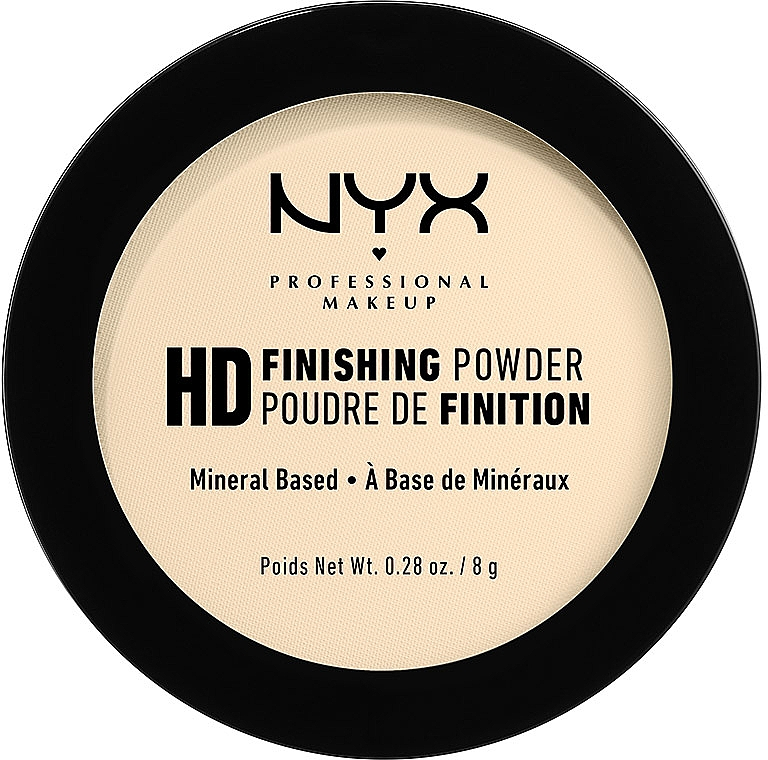 Pulbere de fixare - NYX Professional Makeup High Definition Finishing Powder