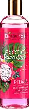 "Parfumuri și produse cosmetice Gel de duș ""Pitaya"" - Bielenda Exotic Paradise Bath And Shower Oil"