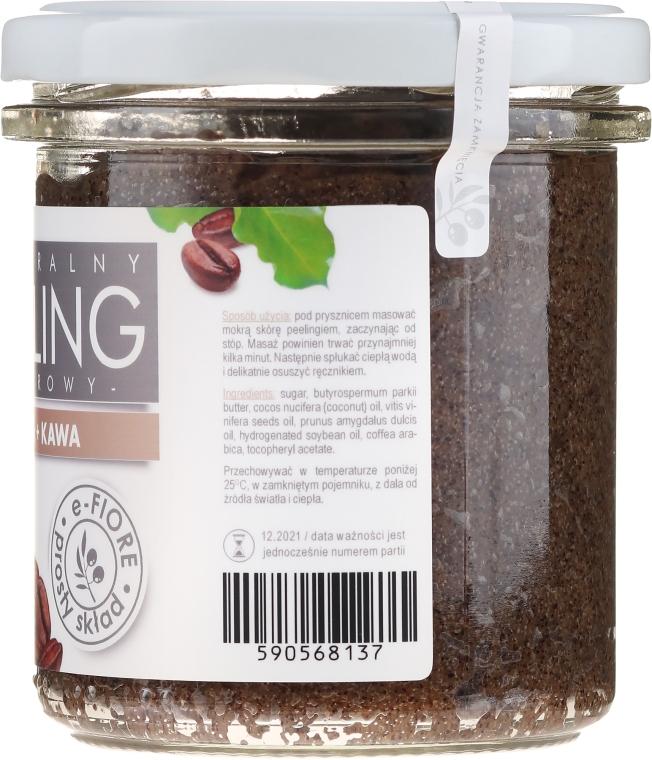 Peeling cu cafea pentru corp - E-Fiore Coffee Body Peeling — Imagine N2