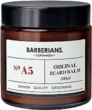 Parfumuri și produse cosmetice Balsam pentru barbă - Barberians. №A5 Beard Balm