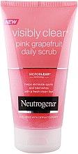 Parfumuri și produse cosmetice Scrub pentru față - Neutrogena Visibly Clear Pink Grapefruit Daily Scrub