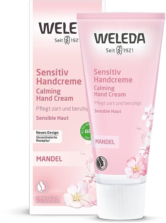 Cremă cu extract de migdale pentru mâini - Weleda Mandel Sensitiv Handcreme — Imagine N2