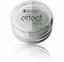 Parfumuri și produse cosmetice Pudră de unghii - Silcare Effect Powder Holo