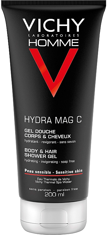 Set - Vichy Homme (sh/gel/200ml + cr/50ml + bag) — Imagine N2