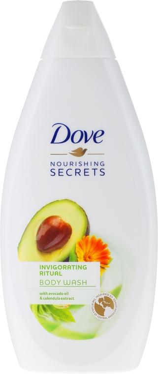 """Gel de duș """"Avocado"""" - Dove Nourishing Secrets Invigorating Shower Gel"""
