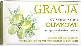 Parfumuri și produse cosmetice Săpun de toaletă cu extract de măsline - Gracja Olive Cream Soap