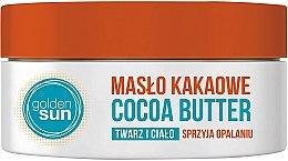 Parfumuri și produse cosmetice Unt de cacao pentru față - Golden Sun