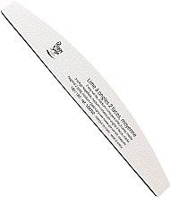 Parfumuri și produse cosmetice Pilă de unghii 180/180, albă - Peggy Sage 2-way Washable Half-Moon Medium Nail File
