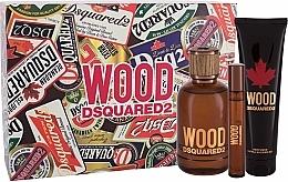 Parfumuri și produse cosmetice Dsquared2 Wood Pour Homme - Set (edt/100ml + edt/10ml + sh/gel/150ml)