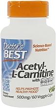 """Parfumuri și produse cosmetice Aminoacid """"Acetil L-Carnitina"""", 500 mg - Doctor's Best Acetyl L-Carnitine"""