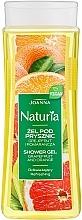 """Parfumuri și produse cosmetice Gel de duș """"Grapefruit și portocală"""" - Joanna Naturia Grapefruit and Orange Shower Gel"""