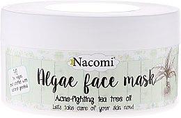 Parfumuri și produse cosmetice Mască de față alginat de ceai verde - Nacomi Professional Face Mask