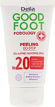 Parfumuri și produse cosmetice Scrub pentru picioare - Delia Cosmetics Good Foot Podology Nr 2.0