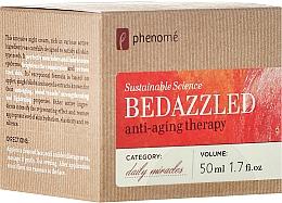 Parfumuri și produse cosmetice Cremă rehenerantă de noapte - Phenome Sustainable Science Bedazzled Anti-Aging Therapy