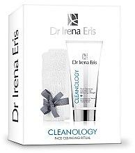 Parfumuri și produse cosmetice Set - Dr Irena Eris Cleanology Face Cleansing Ritual (towel+gel/175ml)