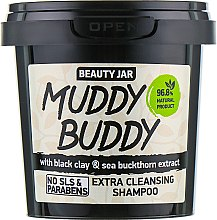 "Șampon de păr ""Muddy Buddy"" - Beauty Jar Extra Cleansing Shampoo — Imagine N1"