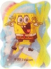 """Parfumuri și produse cosmetice Burete de baie """"SpongeBob"""", albastru-galben deschis - Suavipiel Sponge Bob Bath Sponge"""