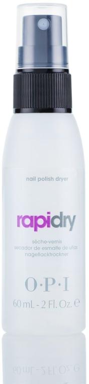 """Spray pentru uscarea lacului cu ulei """"Avoplex"""" - O.P.I RapiDry Spray — Imagine N2"""