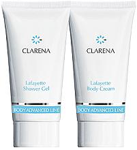 Parfumuri și produse cosmetice Set - Clarena Lafayette Clarena (sh/gel/30ml + body/chr/30ml)