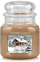 Parfumuri și produse cosmetice Lumânare aromatică - Country Candle Cozy Cabin