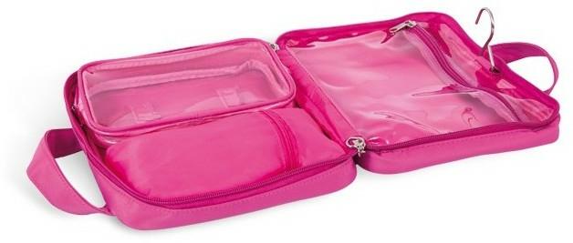 Trusă cosmetică, 4945, roz - Donegal Cosmetic Bag — Imagine N2