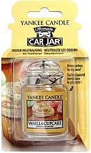 Parfumuri și produse cosmetice Aromatizator auto - Yankee Candle Car Jar Vanilla Cupcake
