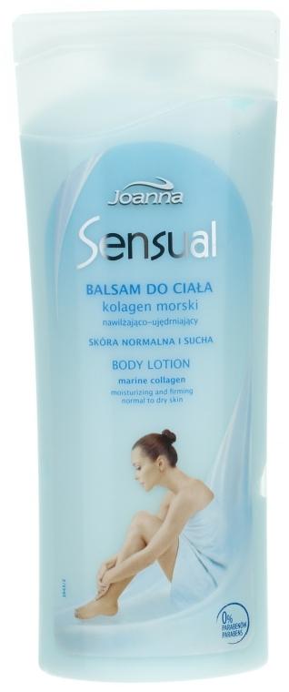 Balsam cu colagen marin pentru corp - Joanna Sensual Marine Collagen Balsam
