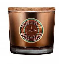 "Parfumuri și produse cosmetice Lumânăre aromată, în pahar ""Santal"" - Flagolie Fragranced Candle Sandalwood"