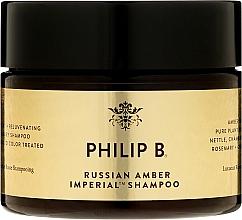 "Parfumuri și produse cosmetice Șampon de păr ""Chihlimbar rusesc"" - Philip B Russian Amber Imperial Shampoo"