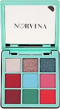 Parfumuri și produse cosmetice Paletă fard de ochi - Anastasia Beverly Hills Norvina Pro Pigment Mini №3