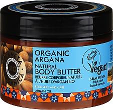 Parfumuri și produse cosmetice Cremă Unt de corp - Planeta Organica Organic Argana Natural Body Butter