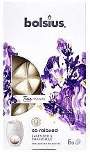 """Parfumuri și produse cosmetice Ceară aromatică """"Lavandă și Mușețel"""" - Bolsius True Moods So Relaxed Lavender & Chamomile"""