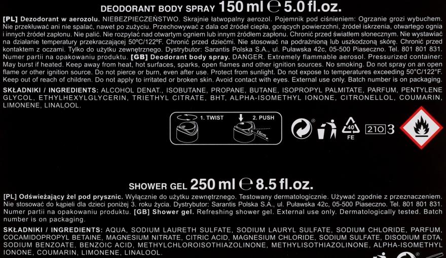 STR8 Hero - Set (deo/85ml + sh/gel/150ml) — Imagine N2