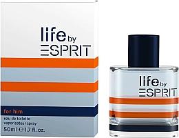 Parfumuri și produse cosmetice Esprit Life by Esprit Men - Apă de toaletă