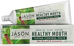 """Parfumuri și produse cosmetice Pastă de dinți """"Controlul tartrului"""" - Jason Natural Cosmetics Healthy Mouth Tartar Control Toothpaste"""