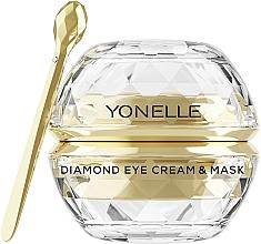 Parfumuri și produse cosmetice Cremă-mască pentru zona din jurul ochilor - Yonelle Diamond Eye Cream & Mask