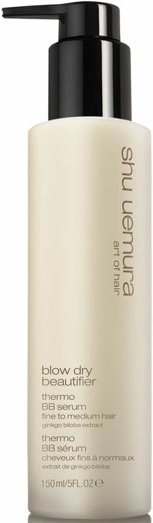 Ser pentru păr - Shu Uemura Art Of Hair Blow Dry Beautifier Thermo BB Serum  — Imagine N1