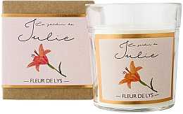 """Parfumuri și produse cosmetice Lumânare parfumată """"Crin"""" - Ambientair Le Jardin de Julie Fleur de Lys"""