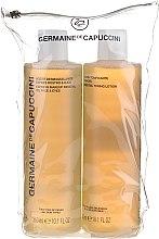 Parfumuri și produse cosmetice Set - Germaine de Capuccini (lot/300ml + milk/300ml)