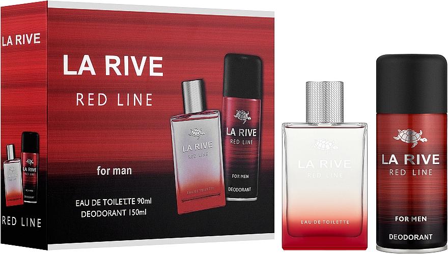 La Rive Red Line - Set (edt/90ml + deo/150ml)