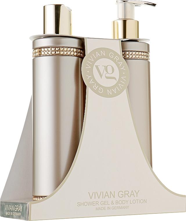 Set - Vivian Gray Brown Crystals Set (sh/gel/250ml + b/lot/250ml)