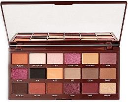 Parfumuri și produse cosmetice Paletă fard de ochi - I Heart Revolution Cranberries & Chocolate Palette