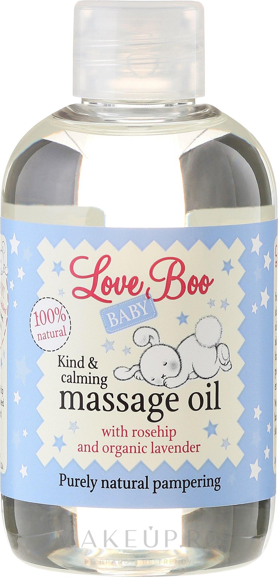 Ulei de masaj pentru copii - Love Boo Baby Kind & Calming Massage Oil — Imagine 100 ml